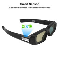 Active Shutter 3D Glasses Bluetooth for Epson Samsung/Sony 3D Tvs USB Charging