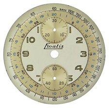 NOS Venus Cal 188 Mathey-Tissot Chronograph / Chrono Wristwatch Dial, Swiss 1940