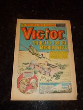 VICTOR Comic - Issue 663 - Date 03/11/1973 - UK Paper Comic
