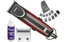 New Oster 76 Outlaw 2-Speed Turbo Clipper+Comb Hair Wet Dry+Case+Extra Blade+Oil
