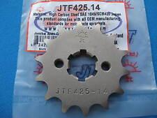 SUZUKI  RV125 VAN VAN   FRONT GEARBOX SPROCKET  14T  (-1)  2003 - 2010