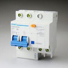 DZ47LE-63 2p C60 60A 230V Earth Leakage Protection Circuit Breaker