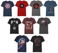 Marvel Avengers Infinity War Captain America Dead Pool Iron Man Mens Tees Gift