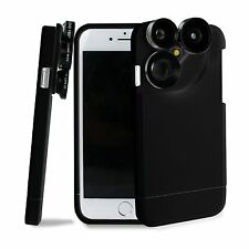 4in1 Camera Lens Wide angle Macro Fisheye Telephoto Case For iPhone 6S Plus