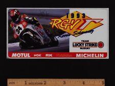 1993 KEVIN SCHWANTZ LUCKY STRIKE SUZUKI RGV500 Sticker FIM GRAND PRIX MOTOGP