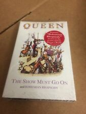 QUEEN THE SHOW MUST GO ON BOHEMIAN RHAPSODY FACTORY SEALED CASSETTE SINGLE C2