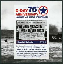 Marshall Islands 2019 MNH WWII WW2 D-Day 1v S/S Military World War II Stamps
