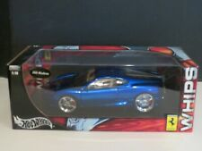 Hot Wheels 1:18 WHIPS 360 Modena Metallic Blue