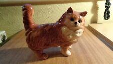 BESWICK PERSIAN CAT STANDING GINGER GLOSS MODEL No 1898 LARGE