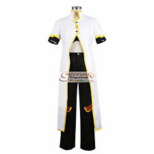 Tales of the Abyss Luke fon Fabre White Uniform COS Clothing Cosplay Costume