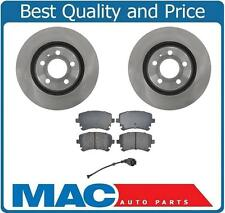 2004-2009 AUDI S4 Rear Disc Rotors & Ceramic Brake Pad Set