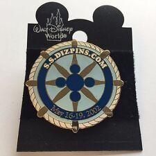 Fantasy Pin - S.S. DIZPINS.COM May 2002 Cruise Event Blue Disney Pin 11798