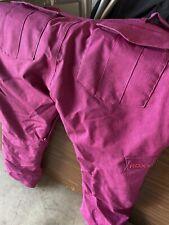 Roxy size 14 Regular Fit 5K beetroot pink snowboard pants ski snow bottoms