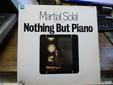 Martial Solal - piano solo : Nothing but piano - MPS 75002