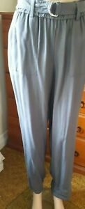 Trent Nathan grey Cargo casual pants  size 12 NEW with tags REDUCED