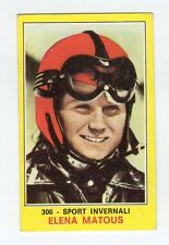 figurina PANINI CAMPIONI DELLO SPORT 1970-71 Numero 306 SPORT INVERNALI MATOUS