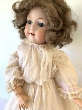 """Antique German Bisque Socket Head Doll Armand Marseille 390 Ball Jointed 18"""""""
