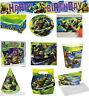 Teenage Mutant Ninja Turtles TMNT Childrens Birthday Party Tableware Supplies