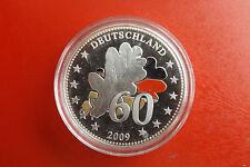 Silbermedaille * 60 Jahre Deutschland * ca.15g*  (KOF 3)