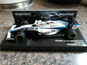 Minichamps 1:43 Williams FW43 George Russell - 2020 Hungarian GP (Sofina livery)