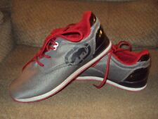 MEN'S MARC ECKO JOGGER ATHLETIC SHOES-GRAY/BLACK/RED-SIZE 6-EXCELLENT CONDITION!