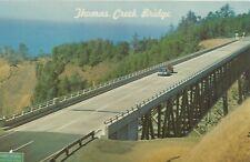 Brookings Or Thomas Creek Bridge Postcard 1960s