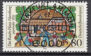 BRD 1983 Mi. Nr. 1186 gestempelt FRANKFURT AM MAIN , mit Gummi TOP! (15349)