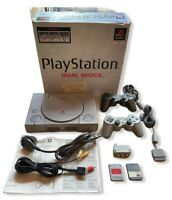 Sony PlayStation PS1 SCPH-9002 Console - Controllers - Boxed - Memory Card