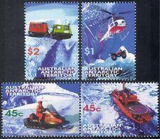 AAT 1998 helicóptero/Ski Buggy/Barco/Vehículo De Orugas/transporte Antártico 4v n18276