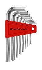 Pb Swiss Tools PB 212ZL.H-12 RB Clé Hexagonale Set stylo à bille POUCES RAINBOW long