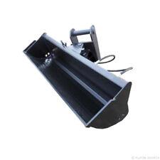 Baggerschaufel 1000mm MS01 hydraulisch schwenkbar Minibagger Radlader Schaufel
