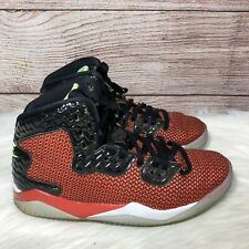 NIKE AIR JORDAN SPIKE FORTY MENS RED BLACK SHOES 819952-605,Size 8.5