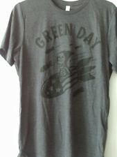 GREEN DAY NEW TOUR T SHIRT LARGE REVOLUTION ROAD AMERICAN IDIOT DOOKIE WARNING