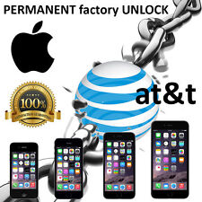 AT&T Factory Unlock code service USA for iPhone 4S 5 5C 5S 6 6+ 7 7s fast 1-12hr