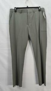 Perry Ellis Men's Premium Tech+Suit Separate Dress Pants, Gray, 38 x 32, NwT