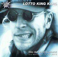 LOTTO KING KARL - Bis der Arzt Kommt - CD NEU - Ich Hab' Den Jackpot - Allergie