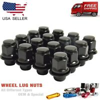 24PCS OEM FACTORY TYPE LUG NUT FITS TOYOTA TUNDRA 14X1.5 ALL MAG SEAT WHEEL BLK