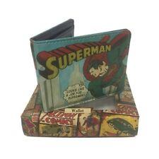 DC Comics Vintage Superman Print Wallet in Presentation Gift Tin