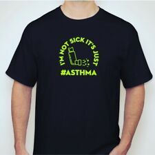 Asthma T Shirt / Funny Shirts / Asthma Gear / Adult Large