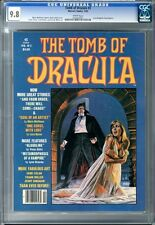 Tomb of Dracula  #3  CGC  9.8  NMMT  White Pages