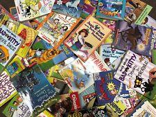 HUGE BULK LOT OF 50 CHILDRENS KIDS CHAPTER BOOKS HOME SCHOOL TEACHER CLASSROOM