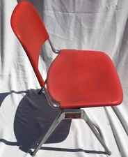 KNOLL Orange Stacking Chair Don Albinson model 1601