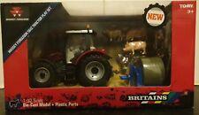 Britains Massey Ferguson 5612 Tractor Play Set - Farm -1:32 Scale