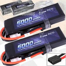 (2) Gens Ace 5000mAh 11.1V 3S LiPo Batteries w/TRAXXAS connectors for E-MAXX