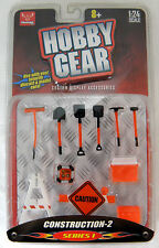 New! Hobby Gear: Construction-2 Series 1 1/24 Scale for Diecast Models Toys
