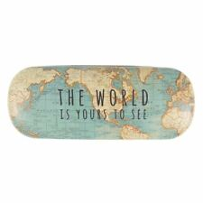 b12615802a5b Sass   Belle World Yours To See Vintage Map Glasses Hard Case Microfibre  Cloth