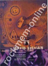 David Sylvian Japan Dead Bees On A Cake LP Advert