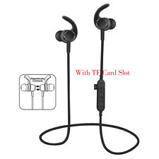 Noise Cancelling Bluetooth Wireless Sports Headset with TF Slot Black_GG_GG