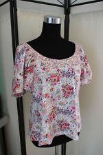 H&M Damenblusen, - tops & -shirts mit Rundhals-Ausschnitt in Größe XS
