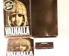 VALHALLA COMMODORE C64 GAME BY LEGEND PRODUCTION 1984